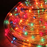 The Christmas Workshop 10 m LED Rope Chaser Lights, Multi-Coloure
