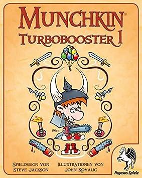 Pegasus Spiele 17178G - Munchkin Turbo Booster 1: Amazon.es: Juguetes y juegos