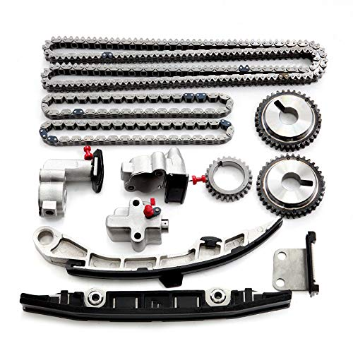 LSAILON Timing Chain Parts Replacement for 2009 2010 2011 2012 Nissan Murano 3.5L 3498CC V6 Gas DOHC Naturally Aspirated