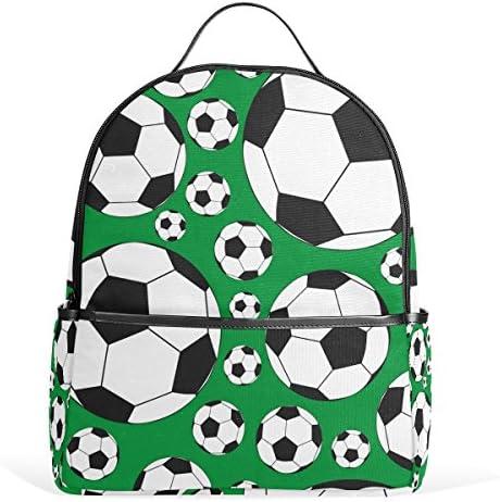 COOSUN Los balones de fútbol Escuela Mochila Ligera bolsa de mano ...