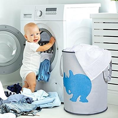 Trend Lab Dr Seuss Horton Storage Bin Blue//Gray