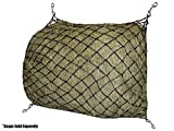 """Derby Originals 30 Hour Slow Feed Slow Feed Poly Rope Hanging Hay Net with 2x2"""" Holes"""
