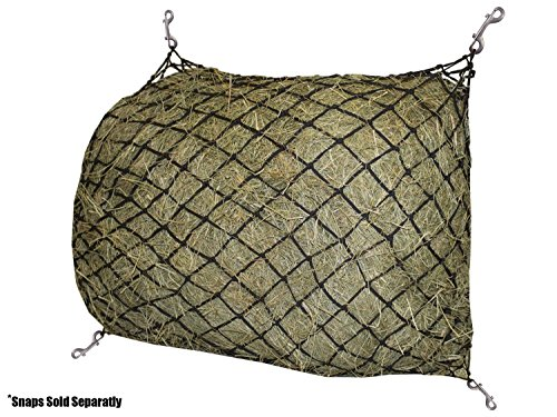 Derby Originals 30 Hour Slow Feed Slow Feed Poly Rope Hanging Hay Net with 2x2