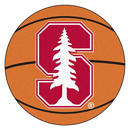 FANMATS NCAA Stanford University Cardinal Nylon Face Basketball (Stanford Basketball Rugs)