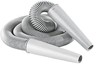 AGT - Manguera universal para aspiradoras (de 1,45 a 7 metros de largo)