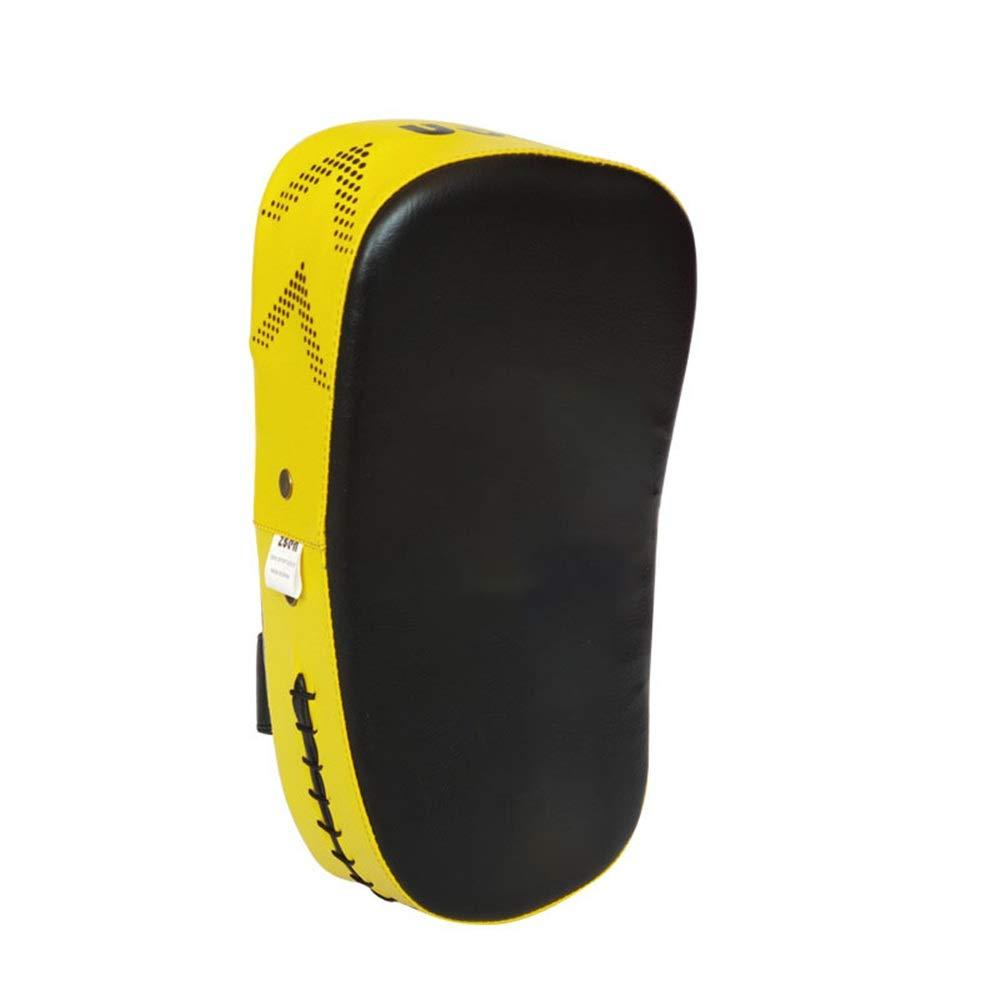 ボクシングのパッドボクシングのターゲットパッドと発泡材料の空手キックボクシングMuaythai総合格闘技UFCブラジル柔術キックボクシングの練習 (色 : 黄, サイズ : 35*20*10cm) 黄 35*20*10cm
