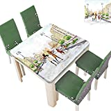 Best Fever Violins - SpillProof Tablecloth Town with Street Musician Women Playing Review