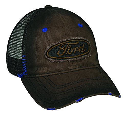 Outdoor Cap 6 Panel Ford Logo Cap Brown/Black