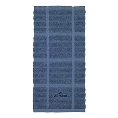 All-Clad Textiles 100-Percent Cotton Solid Kitchen Towel, Cornflower
