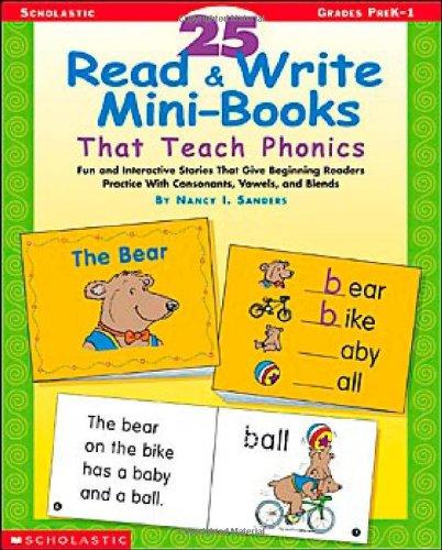 (25 Read & Write Mini-books That Teach Phonics)