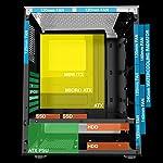 ionz-KZ08B-V3-PC-Classic-Black-MID-TOWER-COMPUTER-CASE-MATX-ATX-TEMPERED-GLASS-WITH-1-FRGB-FAN