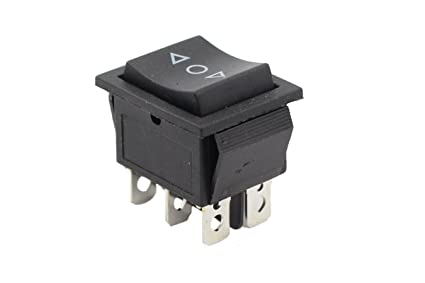 Amazon.com : MOTOKU 3-Position Momentary Rocker Switch 6-Pin Spring on