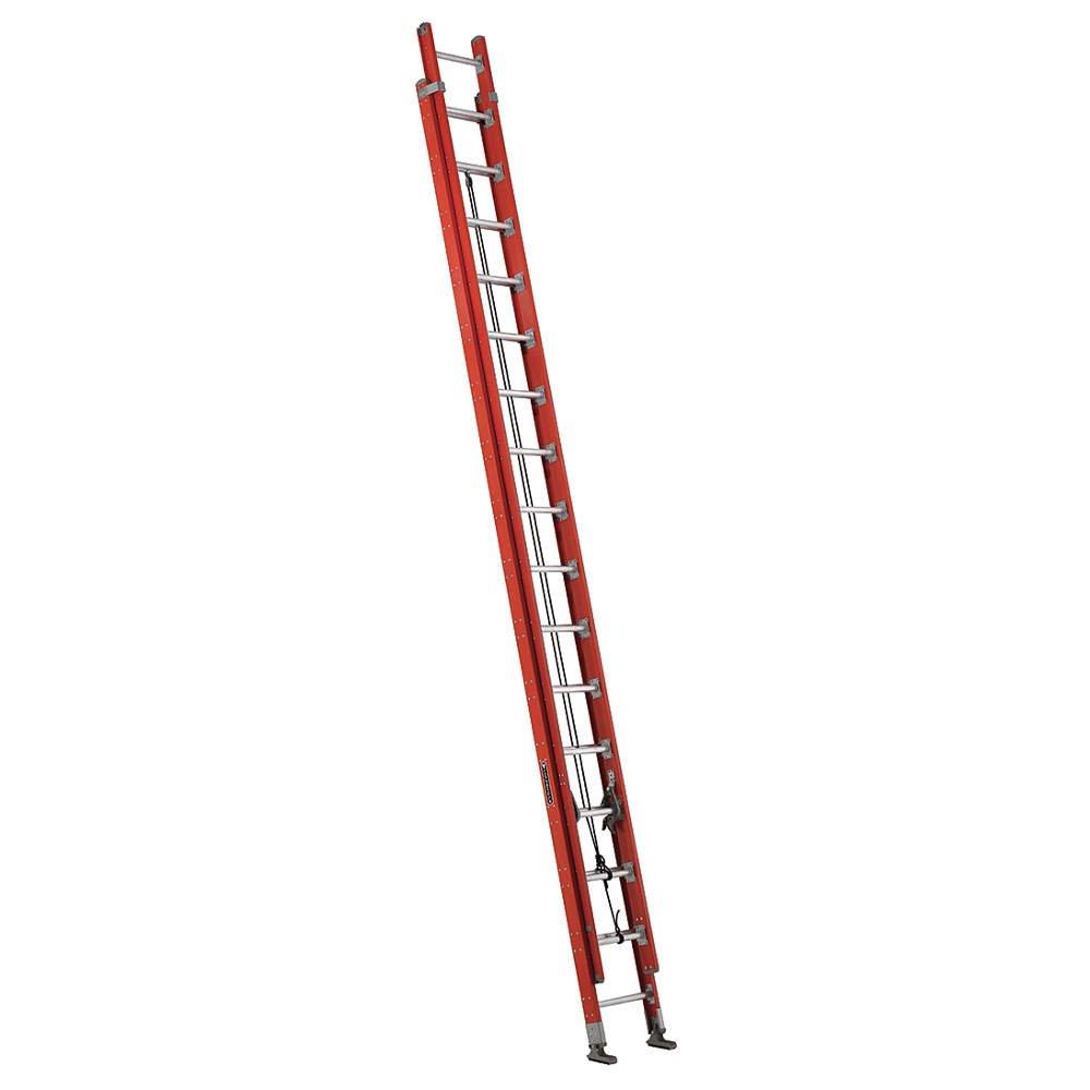 Louisville Ladder Fe7632 32' Fiberglass Roundc Rung Extension Ladder 2 Se