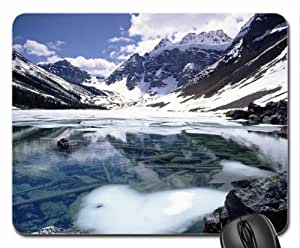Consolation Lake, Banff National Park, Alberta, Canada Mouse Pad, Mousepad (Lakes Mouse Pad)