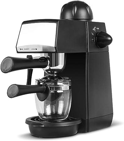 Máquina de café espresso de 5 bares, 4 tazas de 240 ml, con espumador de leche para café capuchino 800W Cafetera hidropresión: Amazon.es: Hogar