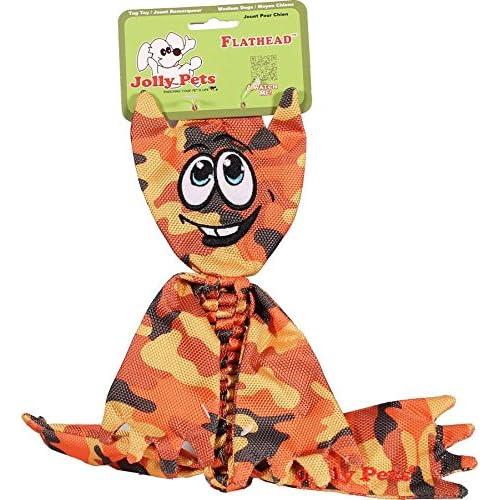 85%OFF Jolly Pets Flathead Tug/Squeak Toy, Camo
