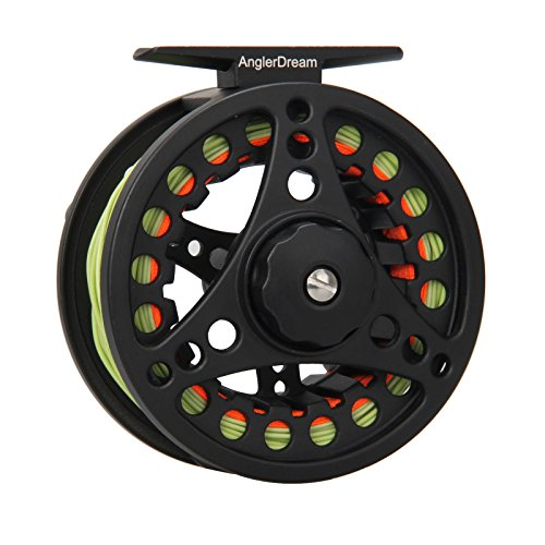 Fly Reel and Line Combo 1/2/3/4/5/6/7/8WT Large Arbor Aluminum Fishing