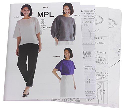 型紙・パターン MPL ラッフル&ギャザーブラウス M174の商品画像