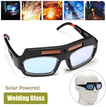 Solar Auto Darkening Eye Mask Welding Goggles Welder Eye Protective Glasses