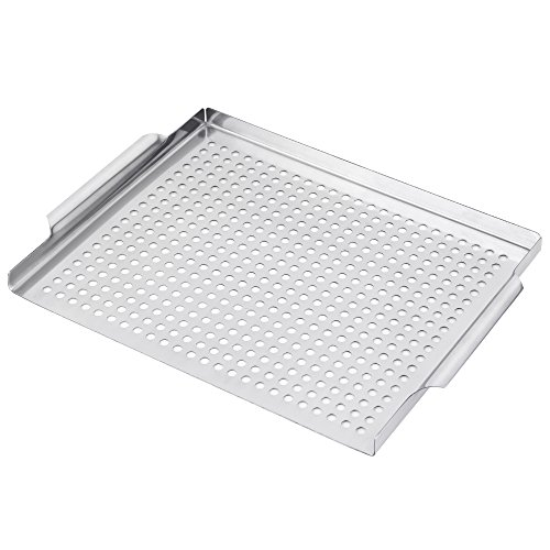 Oven Grill Grid - LIANTRAL Grill Pan Grilling Grid(11.8