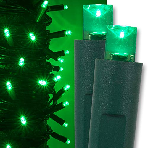 Christmas Green Led Lights in US - 7