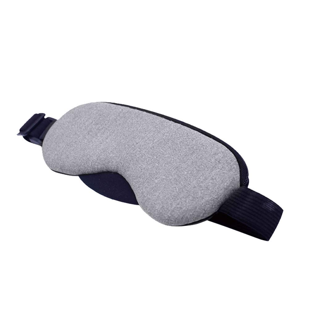 USB Hot Cold Ice Compress Pack Steam Eye Mask Comfortable and Super Soft Eye Mask for Sleep, Yoga, Migraine Headaches, Stress Relief gentman