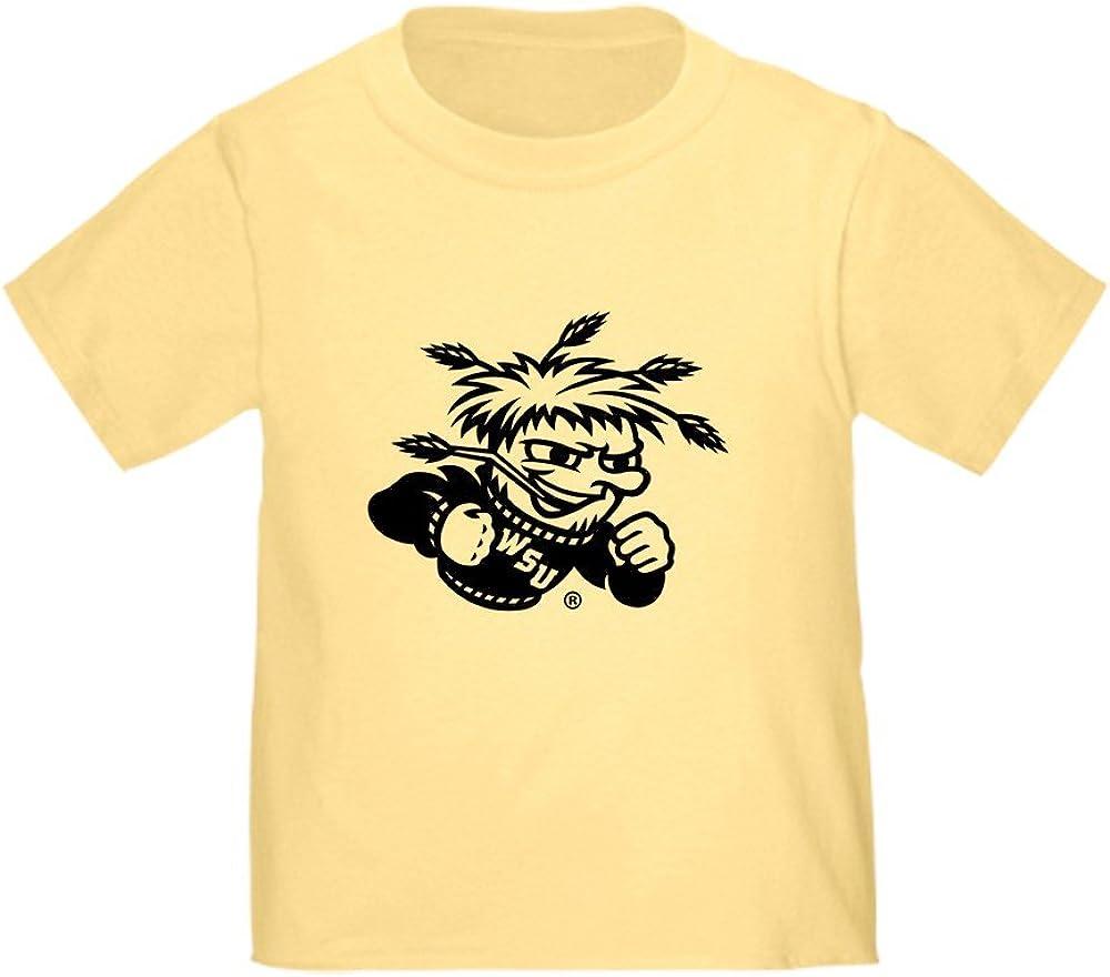 CafePress Wichita State University Wushock Toddler T Shirt Cute Toddler T-Shirt, 100% Cotton Daffodil Yellow