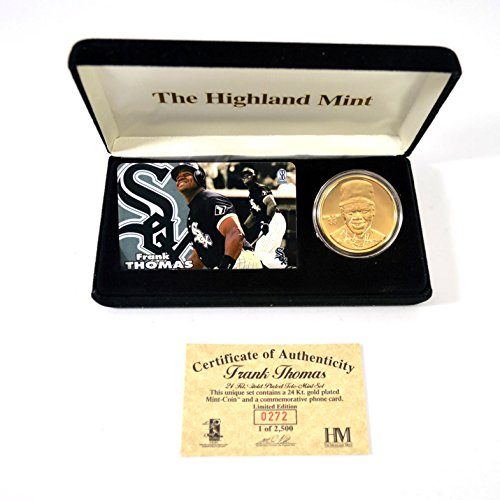 Highland Mint Frank Thomas Tele-mint Coin Set # out of