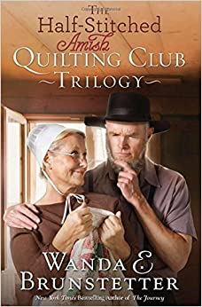 Book By Wanda E. Brunstetter - The Half-Stitched Amish Quilting Club Trilogy (2015-07-16)