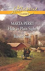 [(Hide in Plain Sight and Buried Sins)] [by: Marta Perry]
