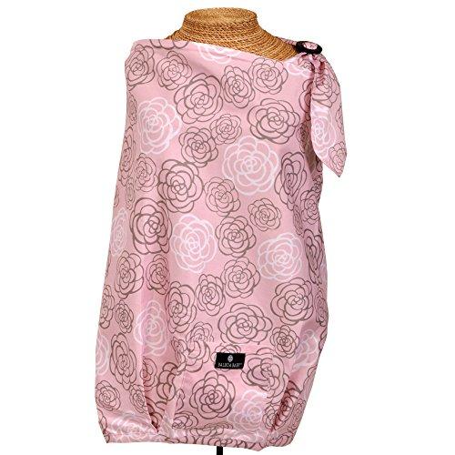 Balboa Baby Nursing Cover, Pink/Grey Camillia
