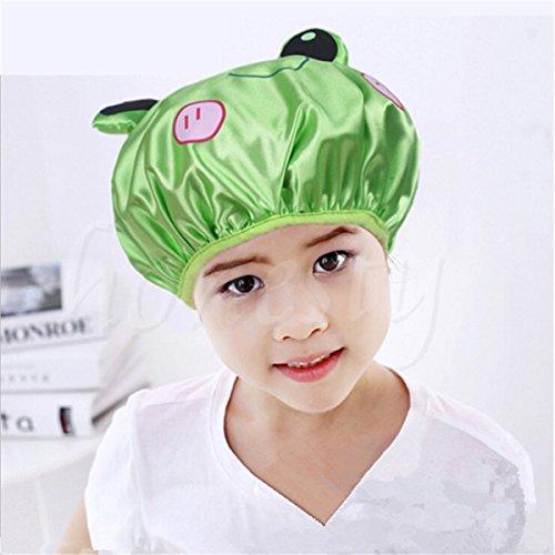 Mod Butterfly Hats (OKOKMALL US--Lovely Waterproof Cartoon Animal Shower Cap Bath Hat Hair Protector Kids Gift)