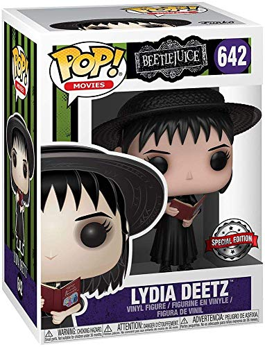 Funko Pop Movies: Lydia Deetz with Handbook Collectible Figure, -
