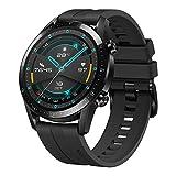 Huawei Watch Gt 2 - Reloj Inteligente, 46Mm, 3D Glass Screen, Bluetooth, Negro