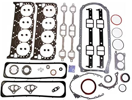 Amazon com: Gm LT1 5 7 350 Full Engine Gasket Set with Head