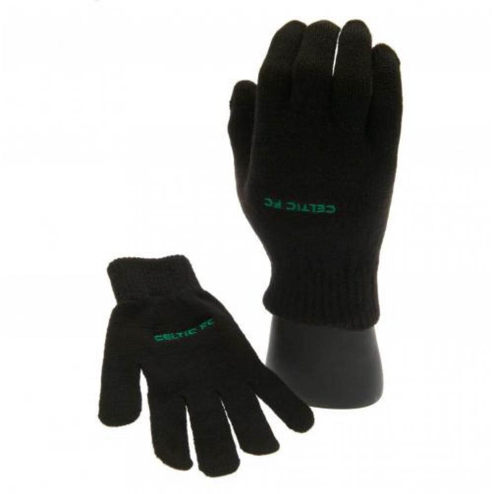 Official Celtic FC Junior Knitted Gloves TFS-28552