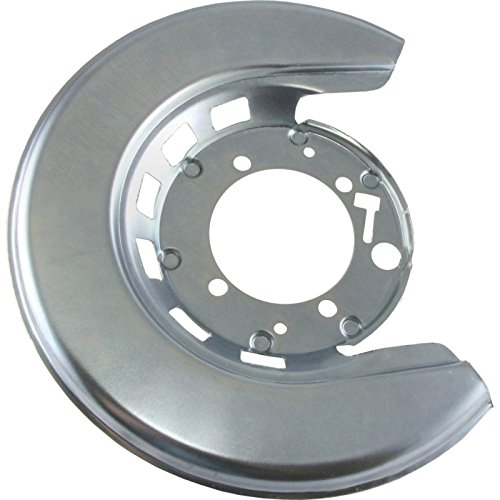 Eckler's Premier Quality Products 25123909 Corvette Brake Caliper Shield Left Rear