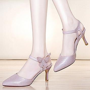 HUAIHAIZ Damen High Heels Pumps Die high-heel Schuhe Mode Frau Schuhe Abend Schuhe