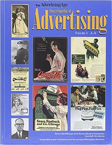 the advertising age encyclopedia of advertising three volume set