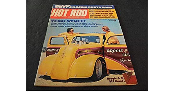 Hot Rod Oct 1975 Drags, Street, Off Road, Vans at Amazon's