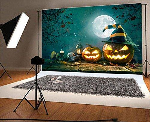 7x5ft Photography Backdrop Beautiful Pattern Halloween Vinyl Background Personal Photo Pumpkin Studio (Non Halloween Pumpkin Patterns)