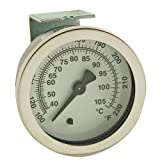Hobart 437041-3 Thermometer Gauge Temp 100 To 200 F W/2'' Dial Hobart Dishwasher 621091