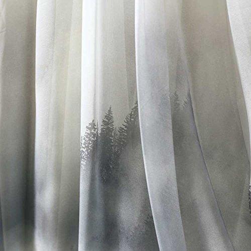 Ashir Aley Summer Floral Flowy Chiffon Long Maxi Skirt (Grey) by Ashir Aley (Image #6)