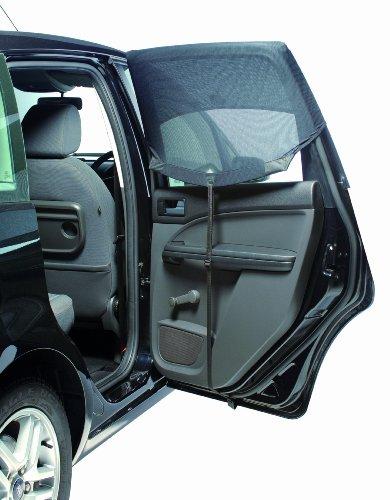outlookアウトルック換気ができる車用サンシェイドautoshadeオートシェードRectangular直角ドア用2枚入