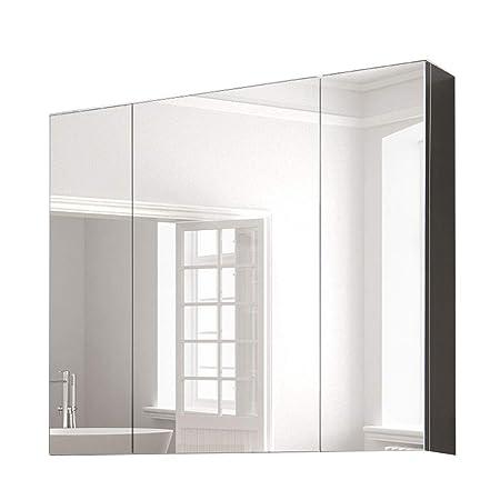 Specchio Bagno Con Lampada.Armadietti A Specchio Acciaio Inossidabile Specchio Bagno A Parete