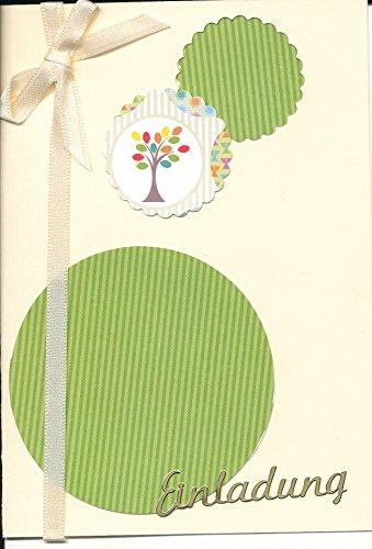 Einladungskarten für christliche Feste, Taufe, Kommunion, Konfirmation, Firmung, zum selbst Gestalten für 8 Karten inc. Zubehör + Umschlag Format C6