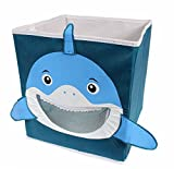 Kid's Shark Collapsible Toy Storage Organizer