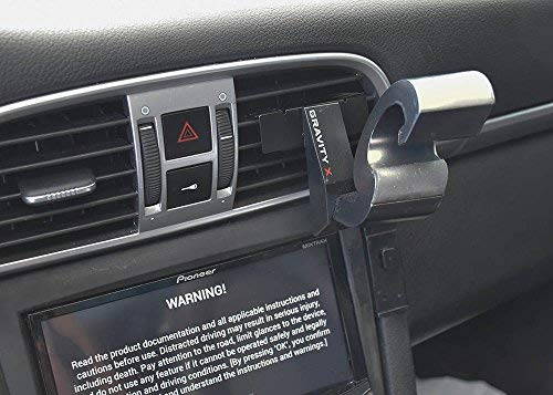 mounts in seconds with one hand Compatible with all Smartphones and Tablets GX101 Gravity X Car Phone Mount award winning patented design uses only Gravity and leverage