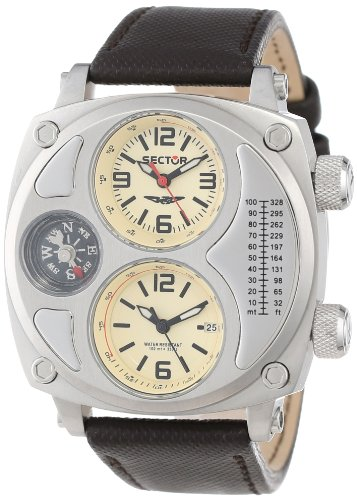 Sector Men's R3251207006 Mountain Compass Analog Stainless Steel Watch