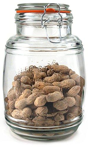 grant-howard-50131-small-cracker-barrel-jar-with-air-tight-wire-bail-closure-2-quart